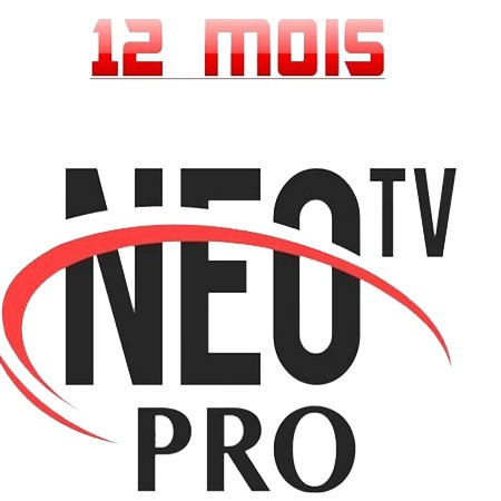 "NEO PRO 2 IPTV 12 Mois ""IOS, ANDROID, Linux"""