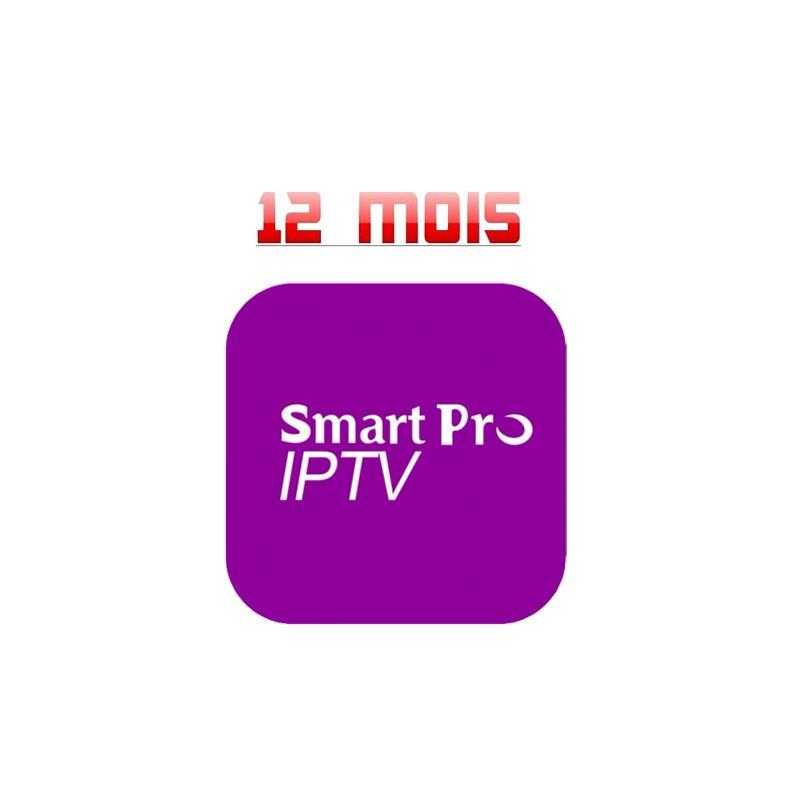 SMART PRO IPTV 12 Mois chez CAVERNE D'OR CASABLANCA