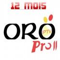 ORO PRO II IPTV 12 MOIS